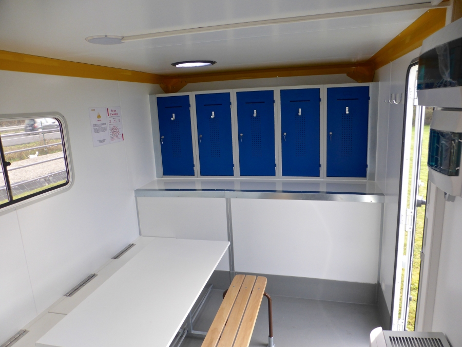 Common room - Straigth truck 3,5T