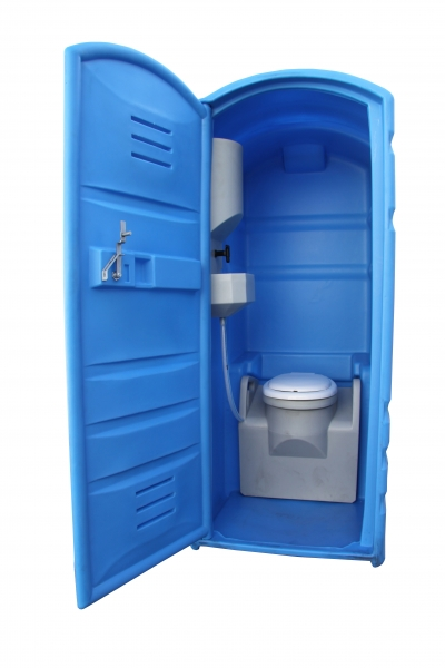 portable restroom toilet cabin no connexion event construction